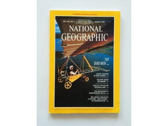 National Geographic vol. 164 no. 2 August 1983,  English, New Guinea, Delaware..