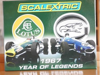 Scalextric C2923A, 1967 Year Of Legends box