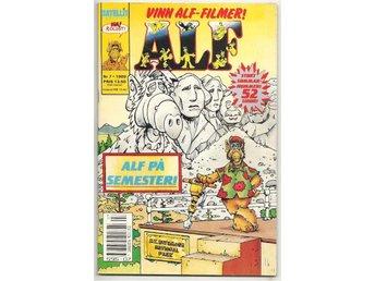 Alf 1989 Nr 7 FN/VF - Vikingstad - Alf 1989 Nr 7 FN/VF - Vikingstad