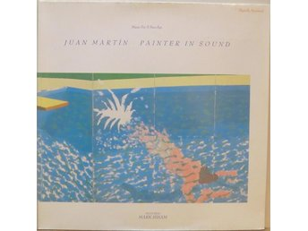Juan Martin-Painter in sound / LP med utvikbart omslag