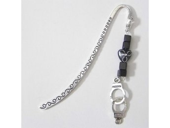 Handklovar bokmärke / Handcuffs bookmark