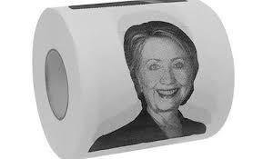 Hillary Clinton Toapapper  2-Pack