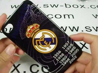 iPhone 4 Real Madrid mobilskal