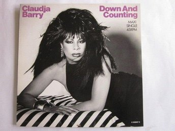"Claudja Barry -Down and counting 12"" Epic Holland 1986"