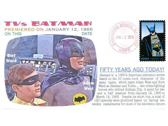 "50th Anniversary TVs ""Batman"" show Event Cover"