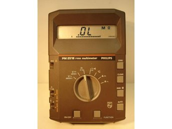 Philips PM2518 RMS Multimeter - Asarum - Philips PM2518 RMS Multimeter - Asarum