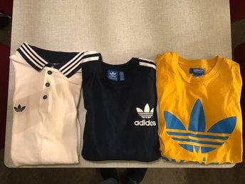 Adidas Spezial Piké samt två Adidas Originals-tshirts - årsta - Adidas Spezial Piké samt två Adidas Originals-tshirts - årsta