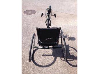 Arm-, Handcykel för rullstolsburna i Malmö: Quickie Mach 2 av Sunrise Medical. - Malmö - Arm-, Handcykel för rullstolsburna i Malmö: Quickie Mach 2 av Sunrise Medical. - Malmö