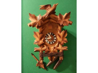 GÖKUR BLACK FOREST AV HUBERT HERR. CUCKOO-CLOCK.