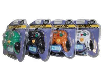 MadCatz MicroCon Gamecube Controller *4-pack* (Mixed)