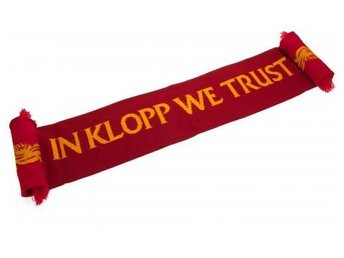 Liverpool Halsduk Klopp Text