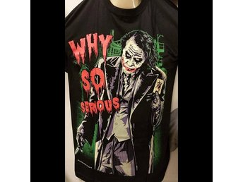 The Joker Why so serious tshirt medium