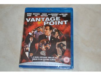 Vantage Point (2008) Film Bluray Nyskick