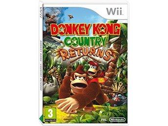Javascript är inaktiverat. - Angered - # Se gärna mina övriga auktioner för mer TV SPEL.. # Passar till Svenska & Europeiska (Enhet/Konsol). Nintendo Wii, Donkey Kong Country Returns, i nyskick och komplett med manual. ------------ Leverans: 2-3 dagar. Betalning till Swedbank kont - Angered
