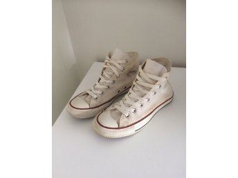 Converse - All Star Basic Hi - Vit i stl.37,5