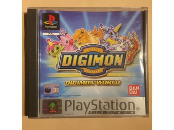 Digimon - Digimon world - Playstation Platinum