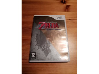 The Legend OF Zelda Twilight Princess Wii KOMPLETT