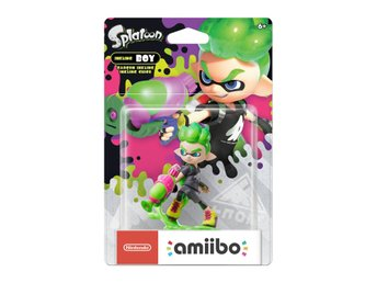 Amiibo Figurine - Inkling Boy Neon Green (Splatoon Collection) - Amiibo