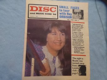DISC Jan 7 -67 JUDITH DURHAM BEATLES SMALL FACES ROLLING STONES THE WHO