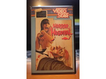 Horror Hospital - Ex Rental, Holland, Video Star, VHS