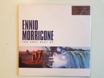 "Ennio morricone the very best of ""limited edition"" 2xLP"