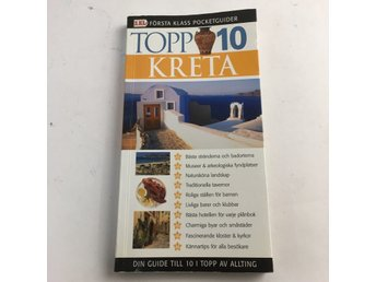 Guidebok, Topp 10 KRETA, m, Pocket, ISBN: 9789178863211