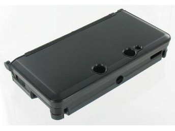 Aluminium look Hard Case Black for Nintendo 3DS 00864