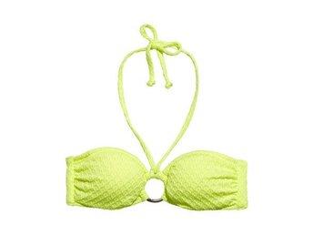 NY lime gul grön bikini överdel Bandeau bh XXS XS 34 H&M somrig sommar sol bad - Väddö - NY lime gul grön bikini överdel Bandeau bh XXS XS 34 H&M somrig sommar sol bad - Väddö