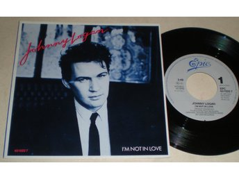 Johnny Logan 45/PS I´m not in love 1987 M-