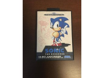 "SEGA Mega Drive ""SONIC the hedgehog"""
