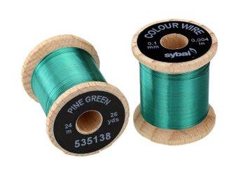 Colour Wire - 0.1 mm - Pine Green - Umeå - Colour Wire - 0.1 mm - Pine Green - Umeå