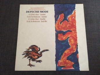 "DEPECHE MODE: It's Called a Heart 2x12"" Maxi Limited Edition"