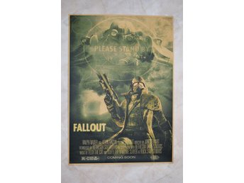 Fallout Filmaffisch, Please Stand By Fallout Poster 30*42cm Ny