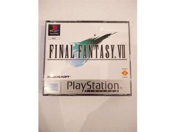 Final Fantasy VII (7) platinum komplett Playstation