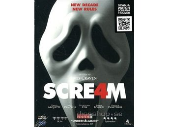 Scream 4 (Blu-ray) UTGÅNGEN