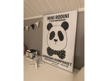 Mini Rodini - limited edition poster 50x70