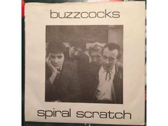 Buzzcocks - Spiral Scratch Originalpressen från -77 med Pete Shelley, vinyl punk