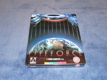 Blu-ray steelbook: Lifeforce (Arrow UK exclusive)