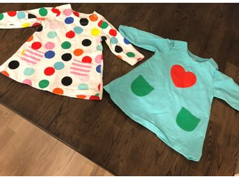 842cc12ff9f9 Två klänningar Lindex baby storlek 68 (333376056) ᐈ Köp på Tradera