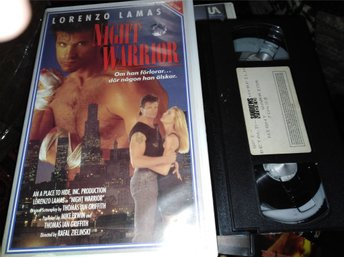 Night warrior  aka Night of the warrior (1991) svensk rental hyr