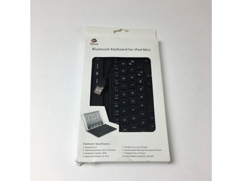 IZound, Bluetooth Tangentbord, Bluetooth keyboard fpr iPad Mini, Svart