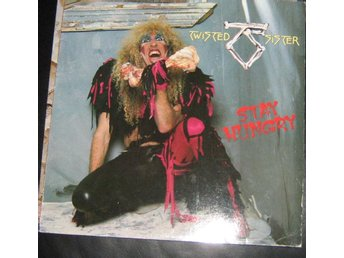 "Twisted sister LP ""Stay hungry"