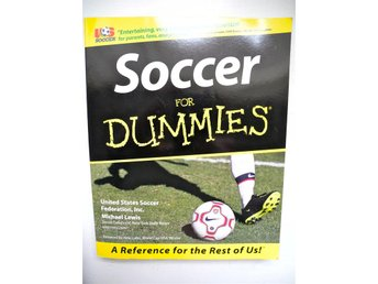 SOCCER FOR DUMMIES Michael Lewis 2000 FRI FRAKT!