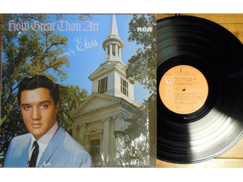 ELVIS PRESLEY  :HOW GREAT THOU ART + 12  ( 1  LP )