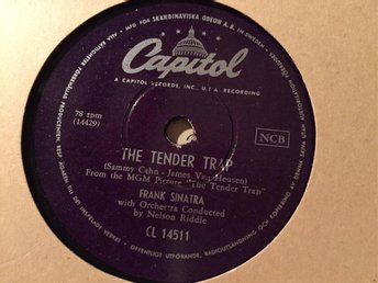 Frank Sinatra: The tender trap / Weep they will