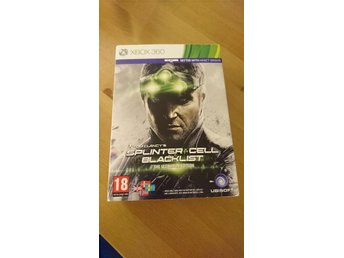 Splinter cell Blacklist The ultimatum edition Xbox 360