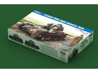 Hobby Boss 1/35 French R35 Light Infantry Tank - Skoghall - Hobby Boss 1/35 French R35 Light Infantry Tank - Skoghall