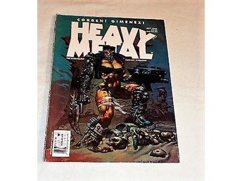 HEAVY METAL . july 1993 (engelsk text ) BRA SKICK