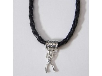 Gaffelben halsband / Wishbone necklace