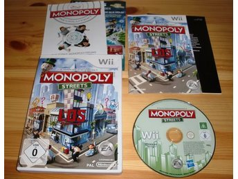 Wii: Monopoly Streets